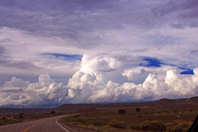 Storm Clouds On New Mexico Horizon
