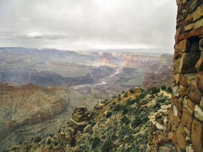 Grand Canyon From The Watchtower