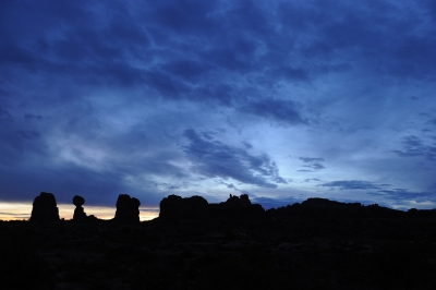 Clearing Storm At Arches National Park