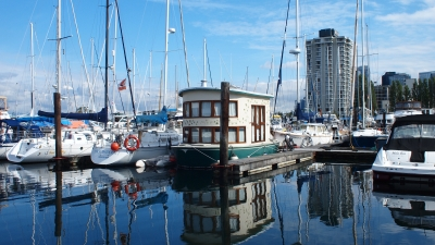 Houseboat In Vancouver