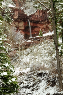 Winter Waterfall Telluride