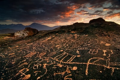 Owens Valley Petroglyphs