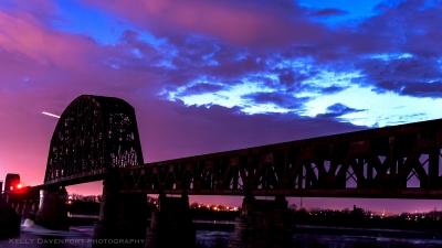 Twilight At The 14th Street Bridge