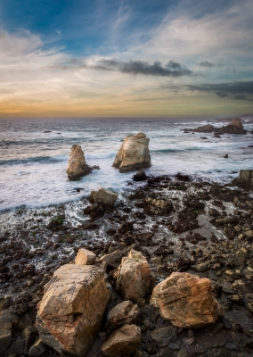 Soberanes  Sea Stacks In Garrapata State Park – Big Sur, Ca