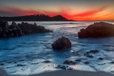 Point Lobos Fiery Light – Carmel, Ca