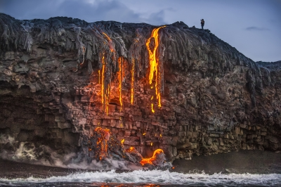 Lava Cliff Shooter