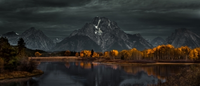 Storm At Ox Bow Bend