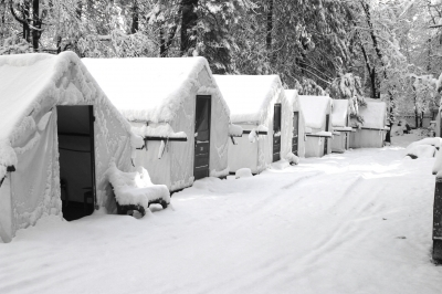 Cv Snow On Tents