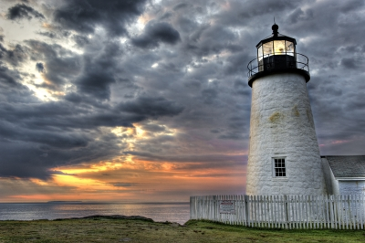 Pemaquid Lighthouse At Dawn