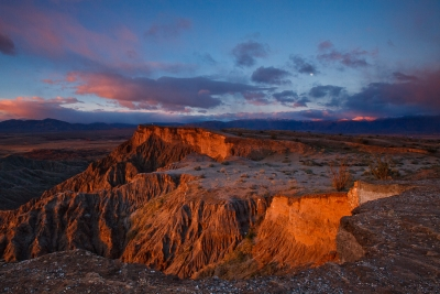 Borrego Badlands Sunrise