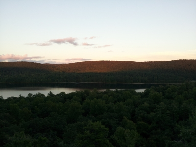 Sunset Over The Reservoir