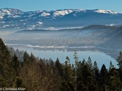 Donner Lake With Mid-morning Mist