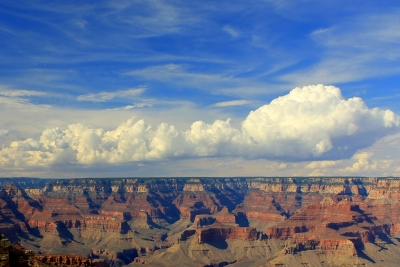 Clouds Over Canyon