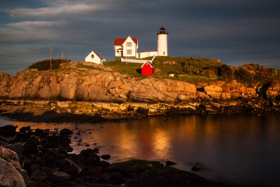 Sunset At The Nubble