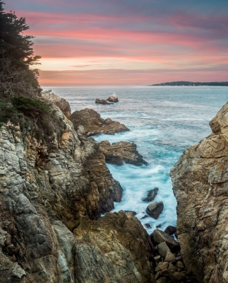 Point Lobos From North Shore Trail – Carmel, Ca