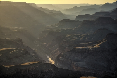 Layers Of Light And Canyon