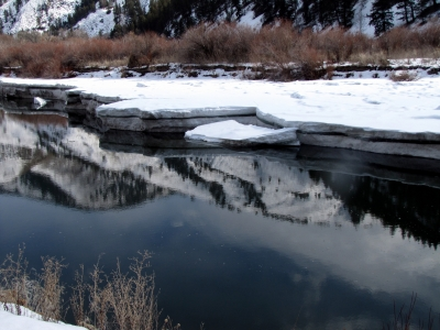 Reflections On The Salmon River