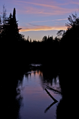 Tranquil Twilight On The Grasse River