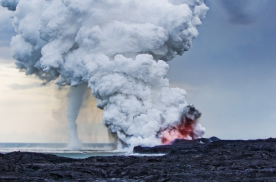 Volcano Water Spout