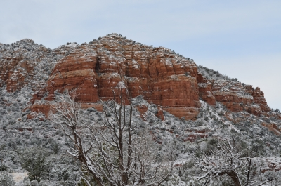 Sedona After The Snow