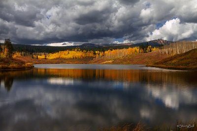 Fall Wonder At Muddy Lake Pass