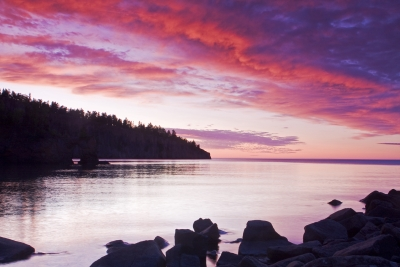 Superior Shore Sunrise