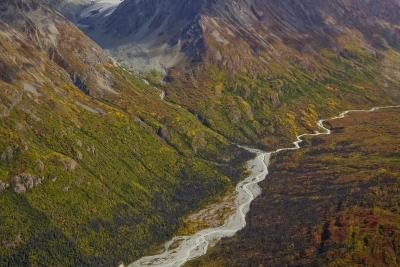 Wrangell St. Elias Mountains @ Alaska