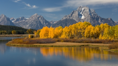 Mid-day At Oxbow Bend