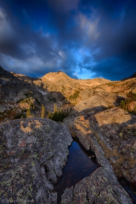 Gathering Storm Over Wild Basin