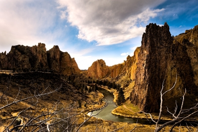 Smith Rock Canyon