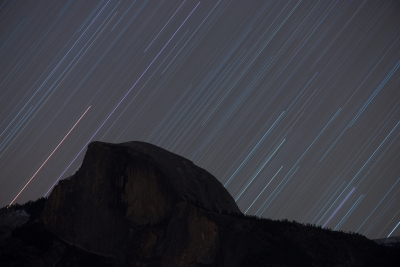 Half Dome And Orion