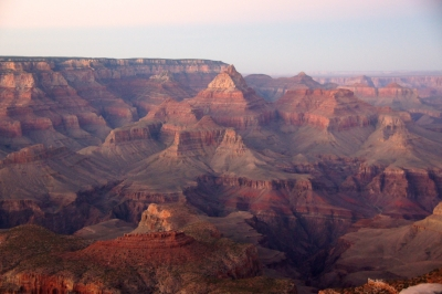 Dusk At The Grand Canyon