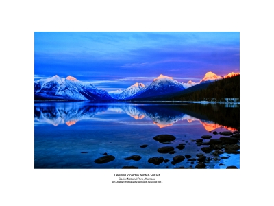 Lake Mcdonald Sunset Ii