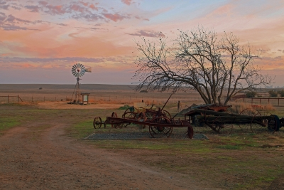 Rush Ranch December Sunset