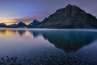 Bow Lake Morning