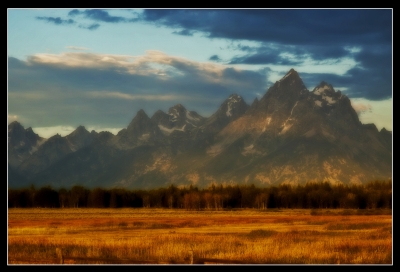 Tetons Magic Light