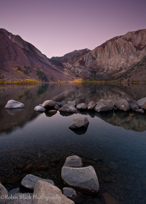 Convict Lake, Pre-dawn (eastern Sierra)