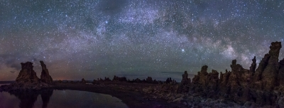 Milky Way Over Mono Tufa