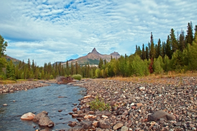 View From Soda Butte Creek