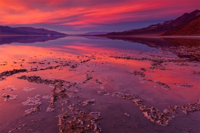 Badwater Sunset, Death Valley National Park