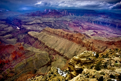 Winter Storm Over The Grand Canyon