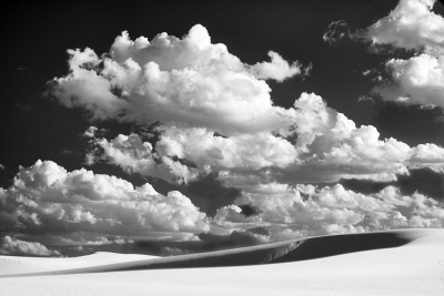 White Clouds, White Sand, White Sands National Monument
