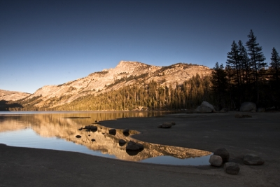 Tenaya Lake@sunset