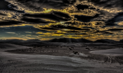 Alien Landscape #2 – White Sands