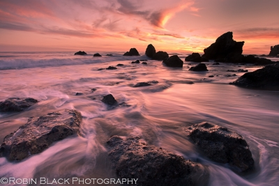 Sunset, El Matador Beach