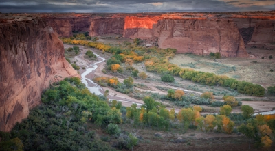 Canyon De Chelly In Autumn