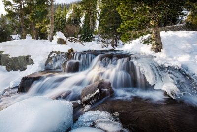 Snowy Eagle Falls, Lake Tahoe