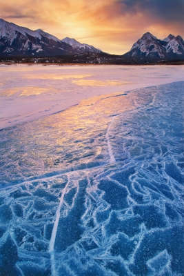 Lake Abraham Sunrise