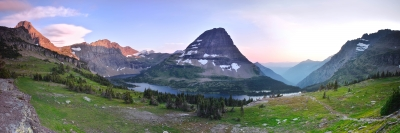 Hidden Lake Panorama