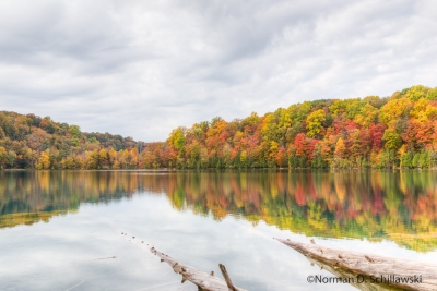 Colors Surround Green Lake State Park